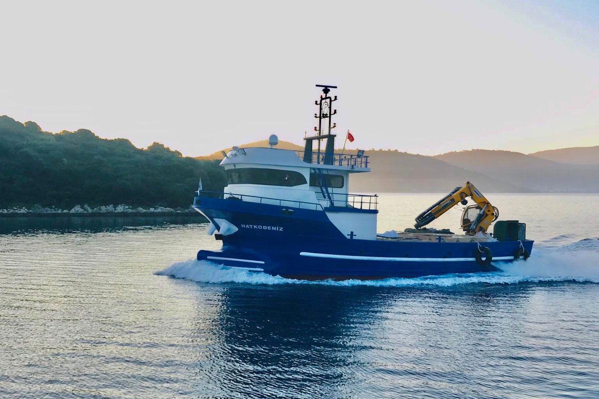 Yeni lojistik teknemiz (Hatko Deniz)